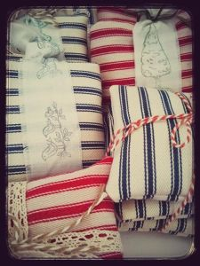Lavender filled pouches by Cats and Birds